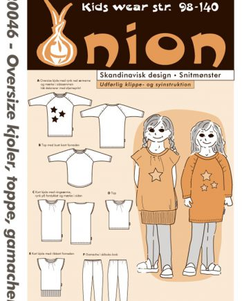 Onion 20046 - Oversize kjoler, topper og tights