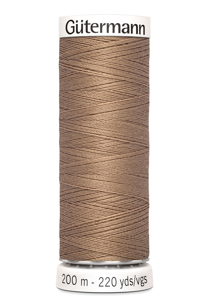 Gutermann No. 100 -Alle stoffers tråd- 200 M farge 139