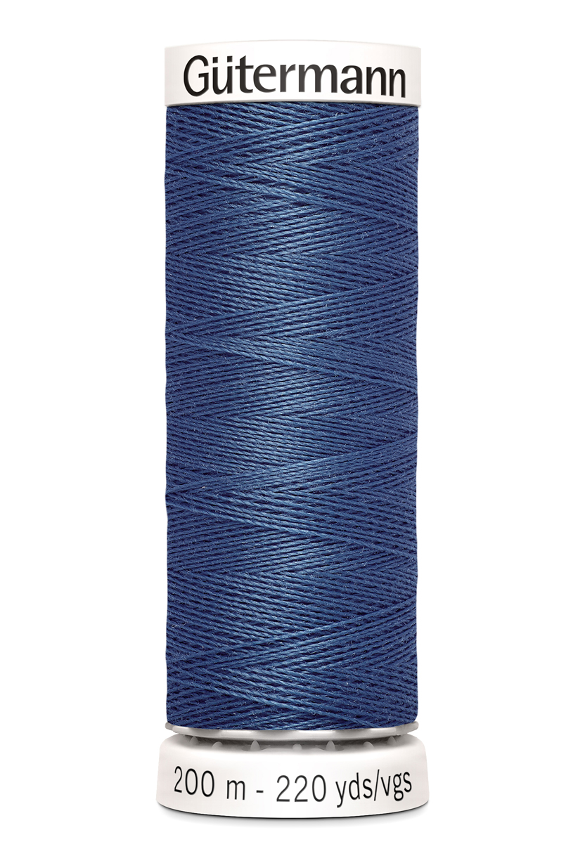 Gutermann No. 100 -Alle stoffers tråd- 200 M farge 68