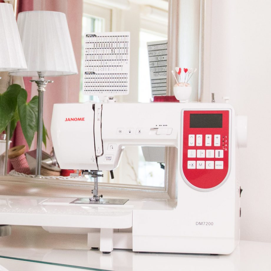 Janome Decor Monogram 7200