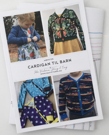 Cardigan til barn, str. 74-146