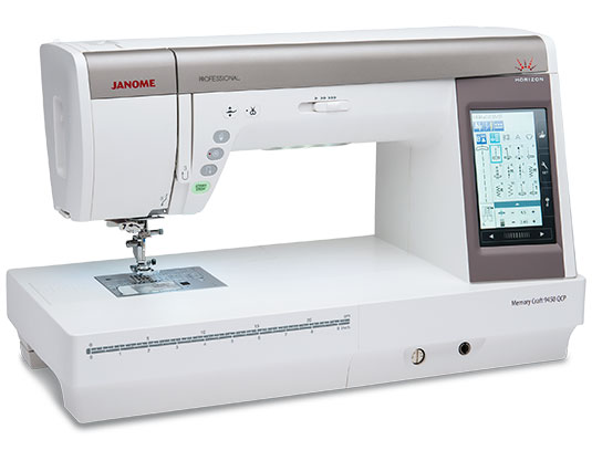 Janome Memory Craft Horizon 9450QCP 10