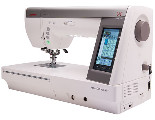Janome Memory Craft Horizon 9450QCP 9